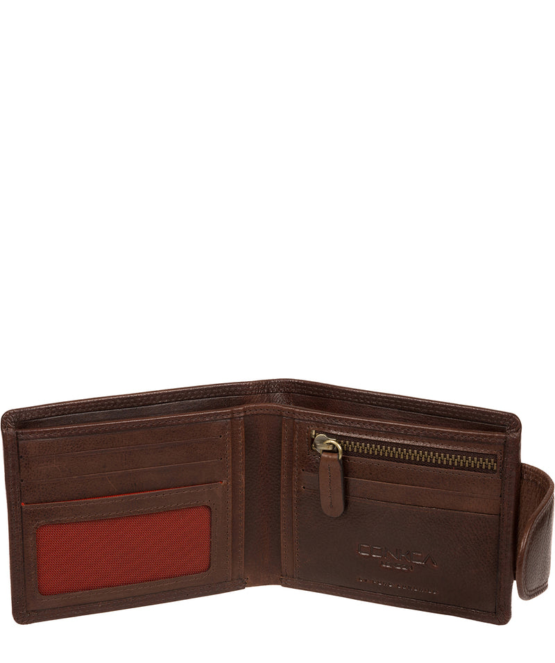 'Stewart' Brown Leather Wallet image 4