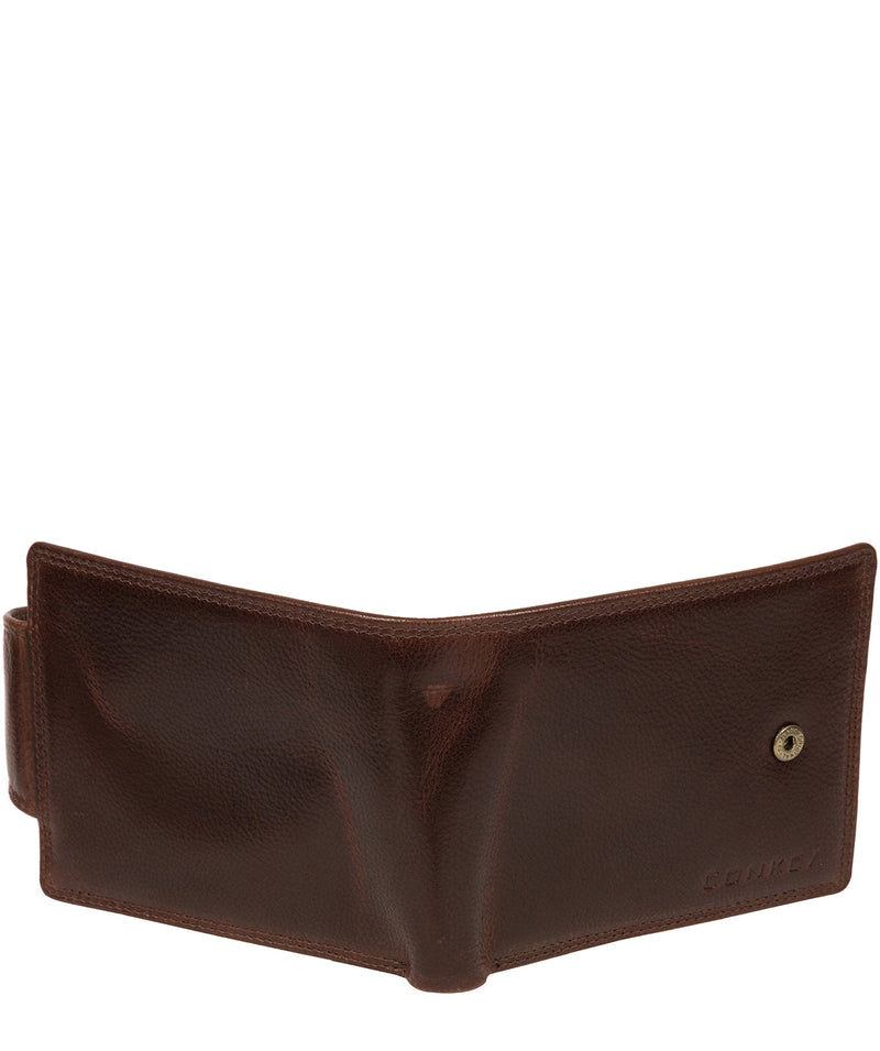 'Stewart' Brown Leather Wallet image 6