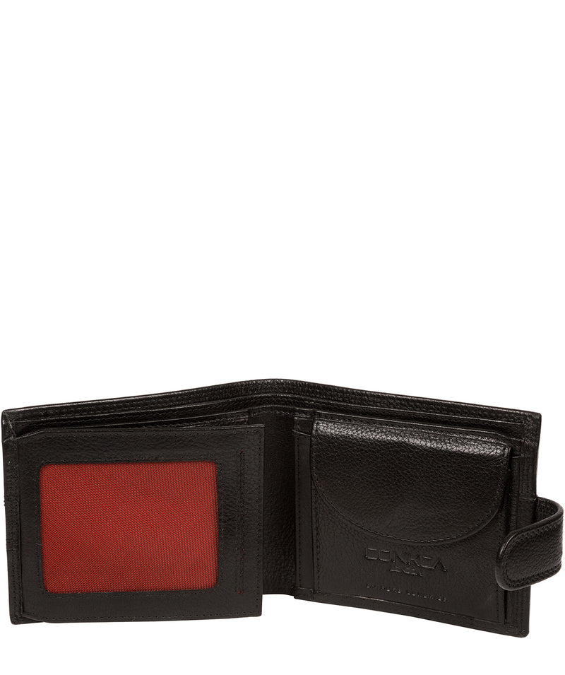 'Hardy' Black Leather Wallet image 3