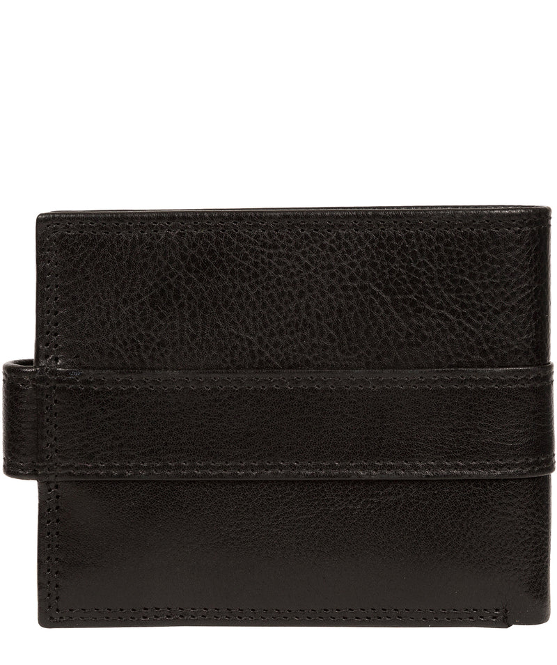 'Hardy' Black Leather Wallet image 5