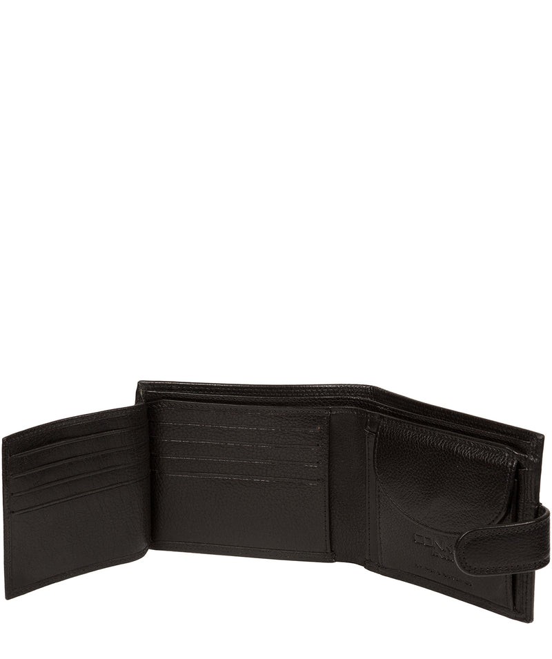 'Hardy' Black Leather Wallet image 6