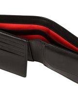 'Elba' Black Leather Wallet image 4