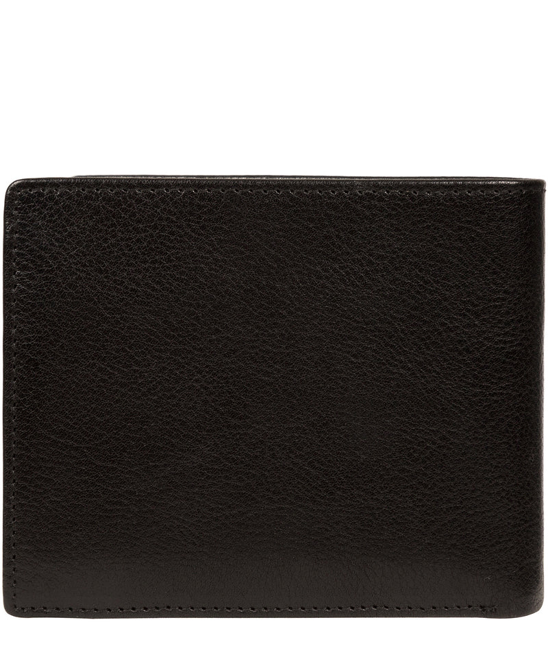 'Elba' Black Leather Wallet image 6
