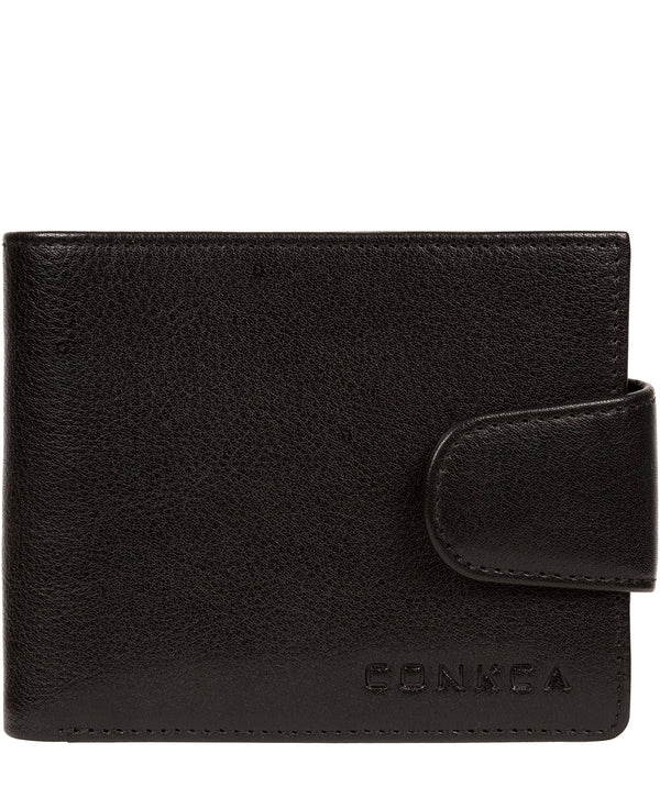 'Neeson' Black Leather Wallet image 1