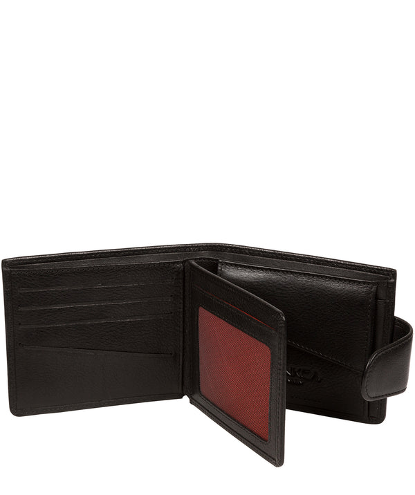 'Neeson' Black Leather Wallet image 3