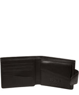 'Neeson' Black Leather Wallet image 6