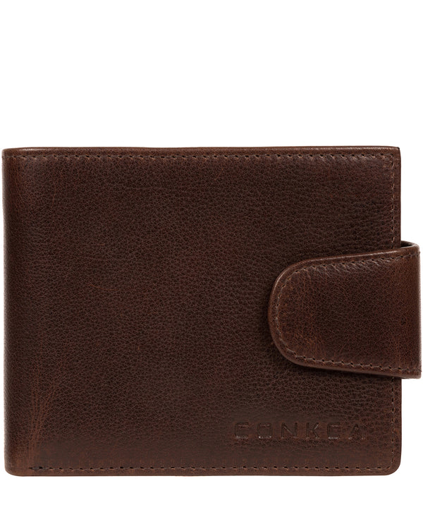 'Neeson' Brown Leather Wallet image 1