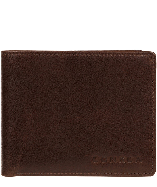'Kingsley' Brown Leather Wallet image 1