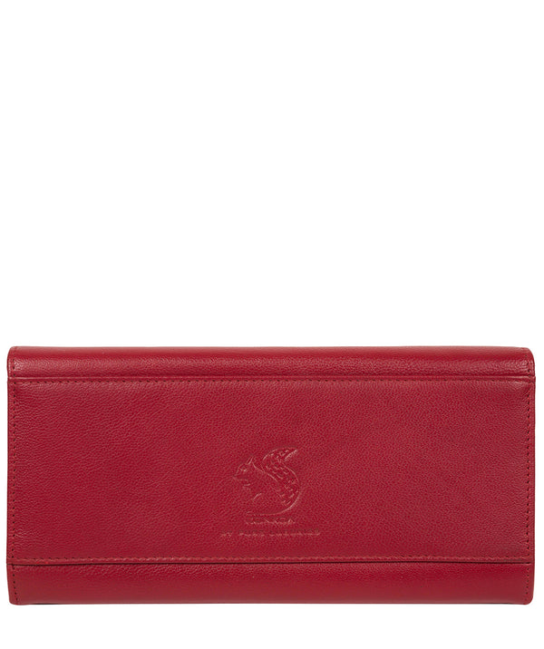 'Smith' Red Leather Purse image 3
