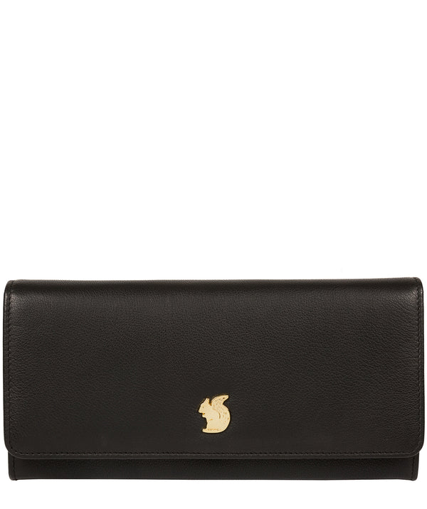 'Weisz' Black Leather Purse image 1