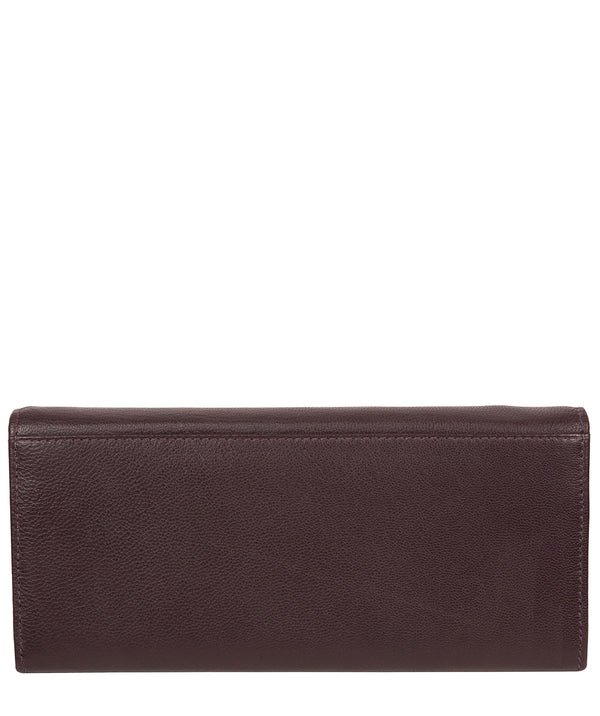 'Weisz' Plum Leather Purse image 3