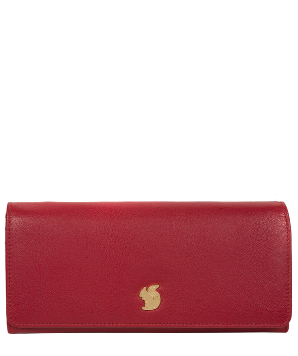 'Weisz' Red Leather Purse image 1