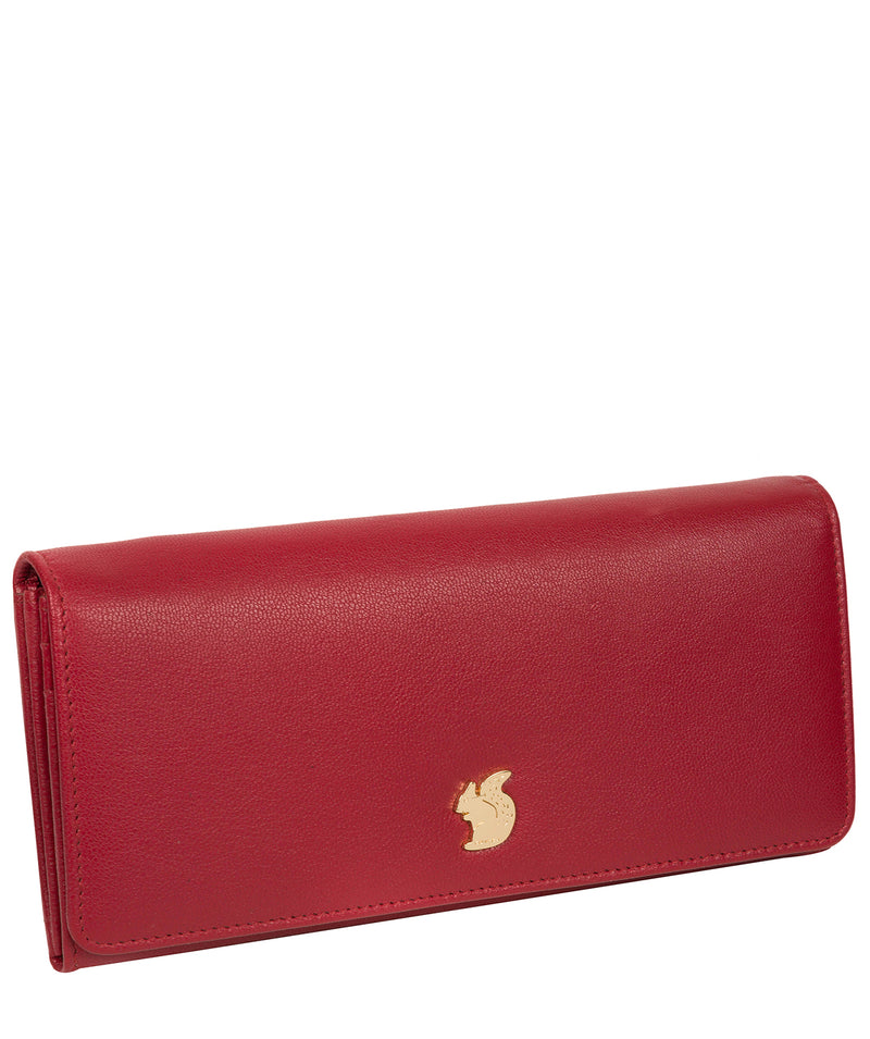'Weisz' Red Leather Purse image 5