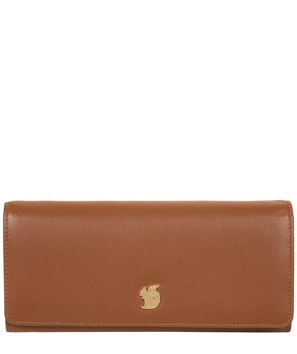 'Weisz' Tan Leather Purse image 1