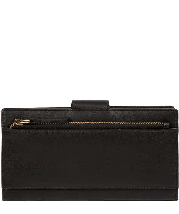 'Kaif' Black Leather Purse image 3