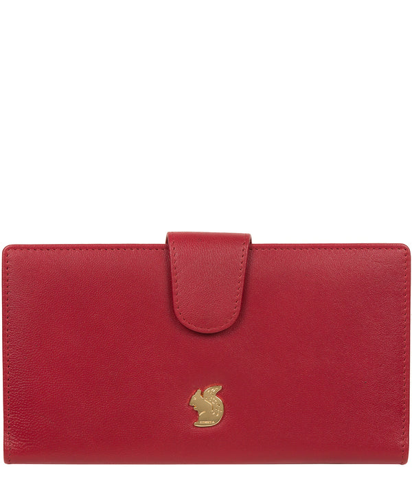 'Kaif' Red Leather Purse image 1