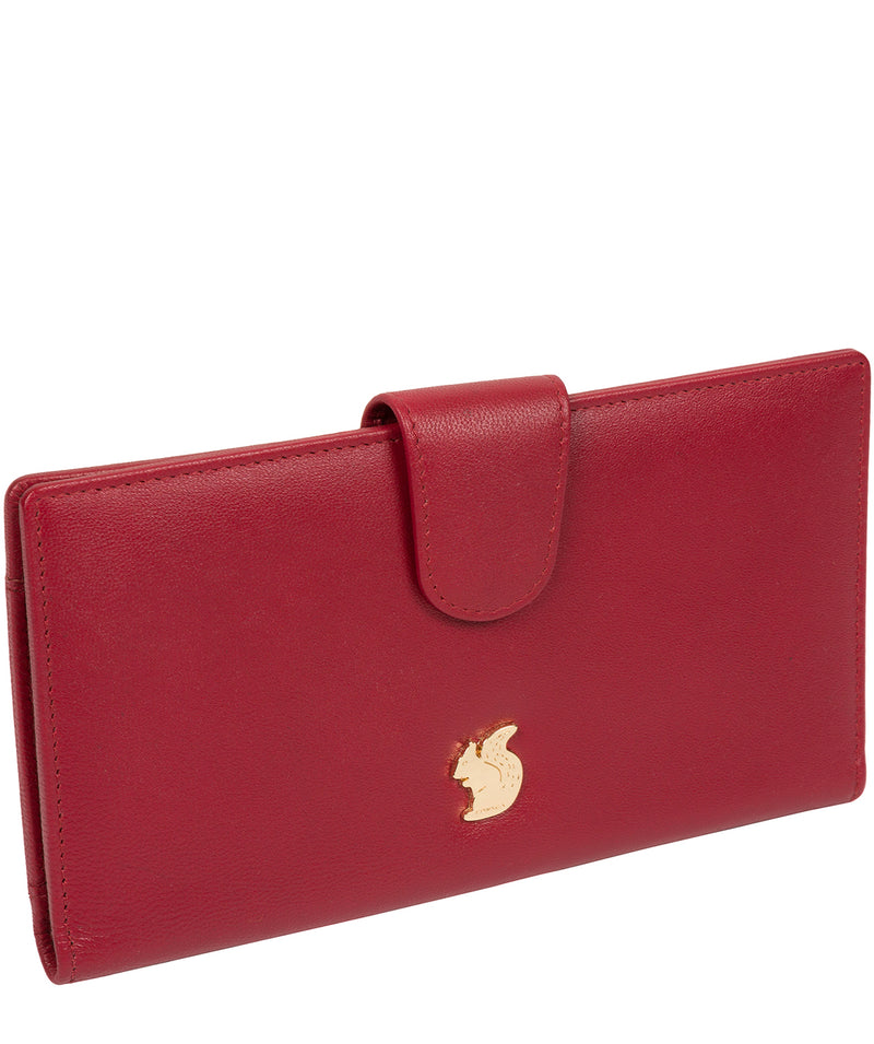 'Kaif' Red Leather Purse image 3