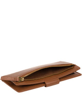 'Kaif' Tan Leather Purse image 5