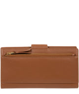 'Kaif' Tan Leather Purse image 6