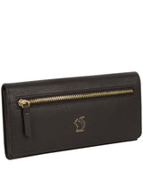 'Fenny' Pebble Black Leather Purse