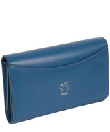 'Kali' Blue Leather Purse
