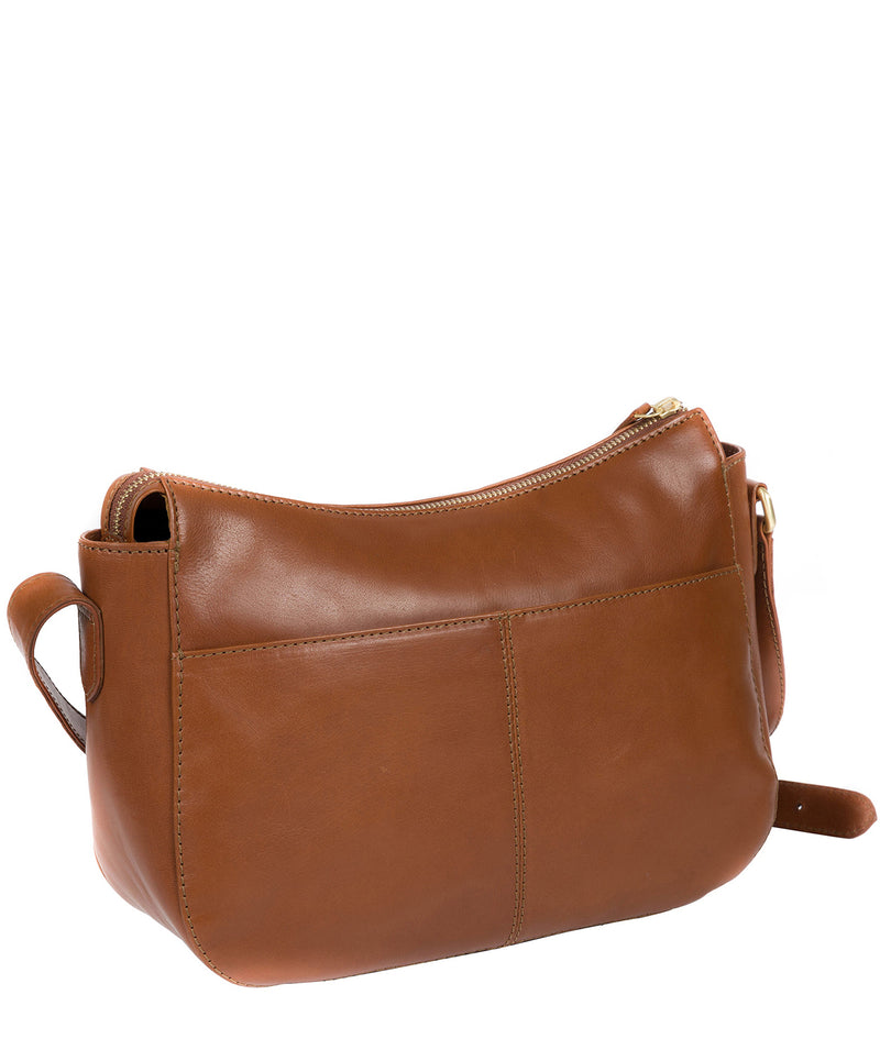 'Enna' Italian Inspired Tan Leather Bag image 4