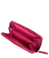 'Banbury' Fuchsia Leather Zip-Round Purse image 4