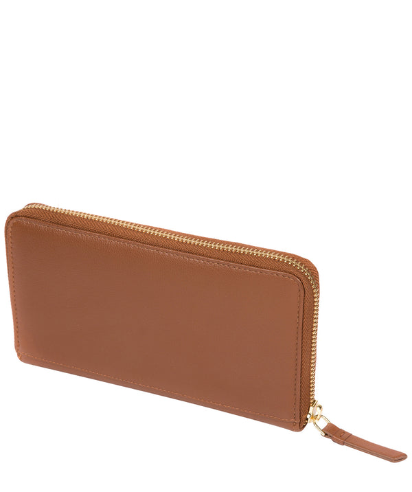'Banbury' Tan Leather Zip-Round Purse image 3