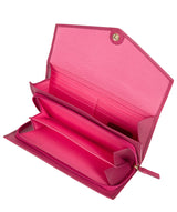 'Keston' Fuchsia Leather Purse image 4