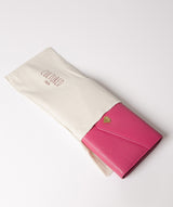 'Keston' Fuchsia Leather Purse image 5