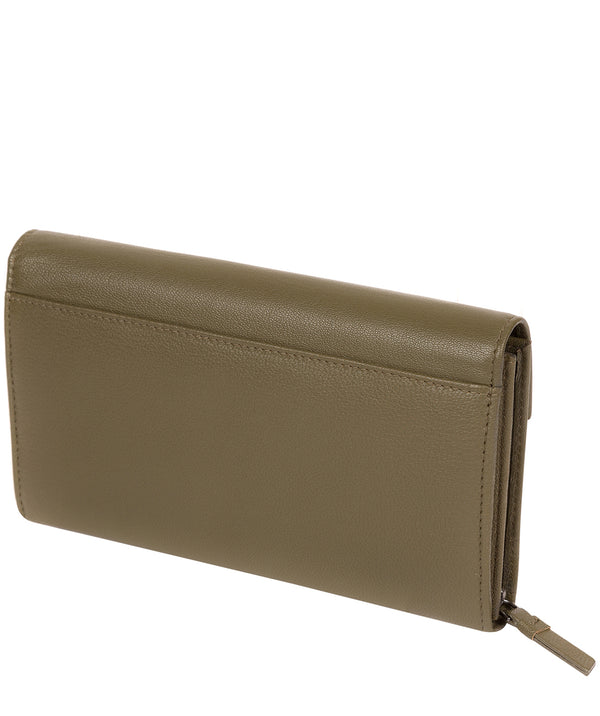 'Keston' Olive Leather Purse image 3
