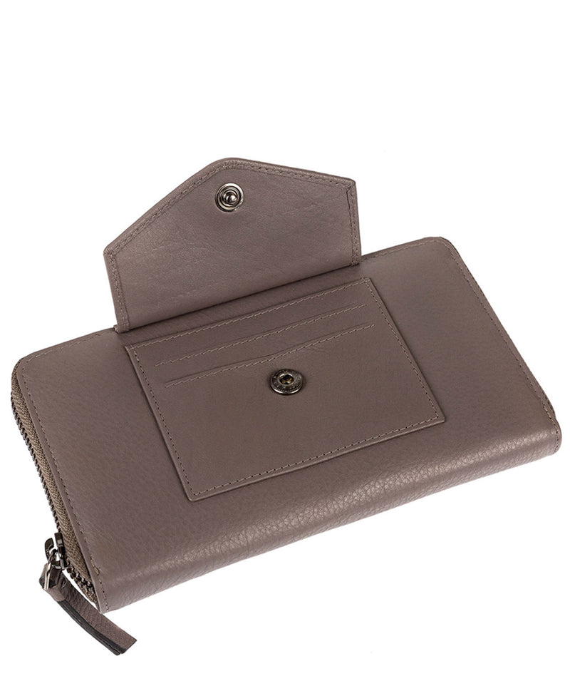 'Europa' Grey Soft Cowhide RFID Purse