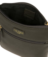 'Zaz' Olive Leather Small Cross Body Bag image 4