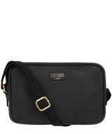 'Giulia' Black Leather Small Cross Body Bag image 1
