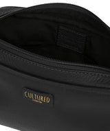 'Giulia' Black Leather Small Cross Body Bag image 4