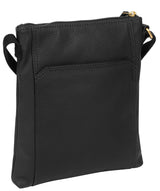'Lucie' Black Leather Small Cross Body Bag image 3