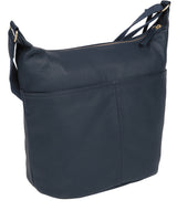 'Paula' Denim Leather Cross Body Bag image 3