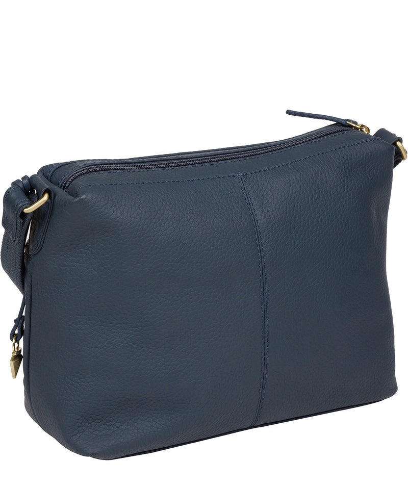 'Duana' Denim Leather Shoulder Bag image 3