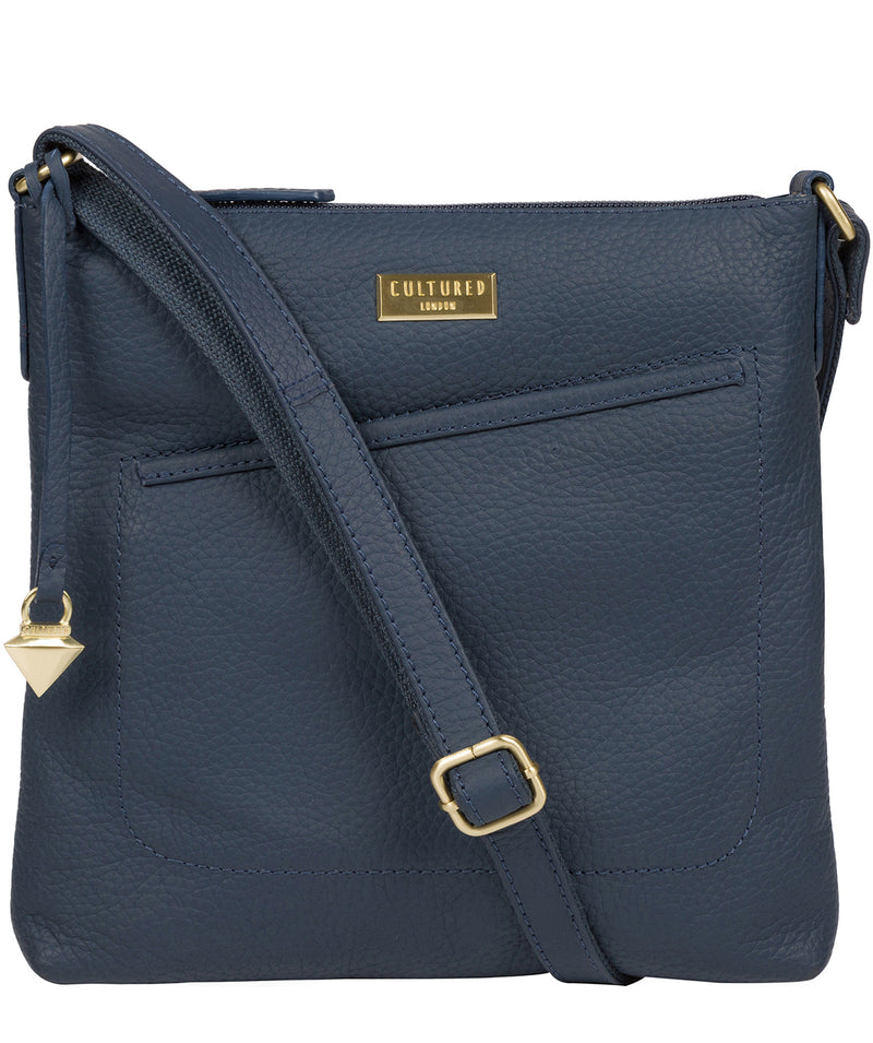 'Bronwyn' Denim Leather Cross Body Bag image 1