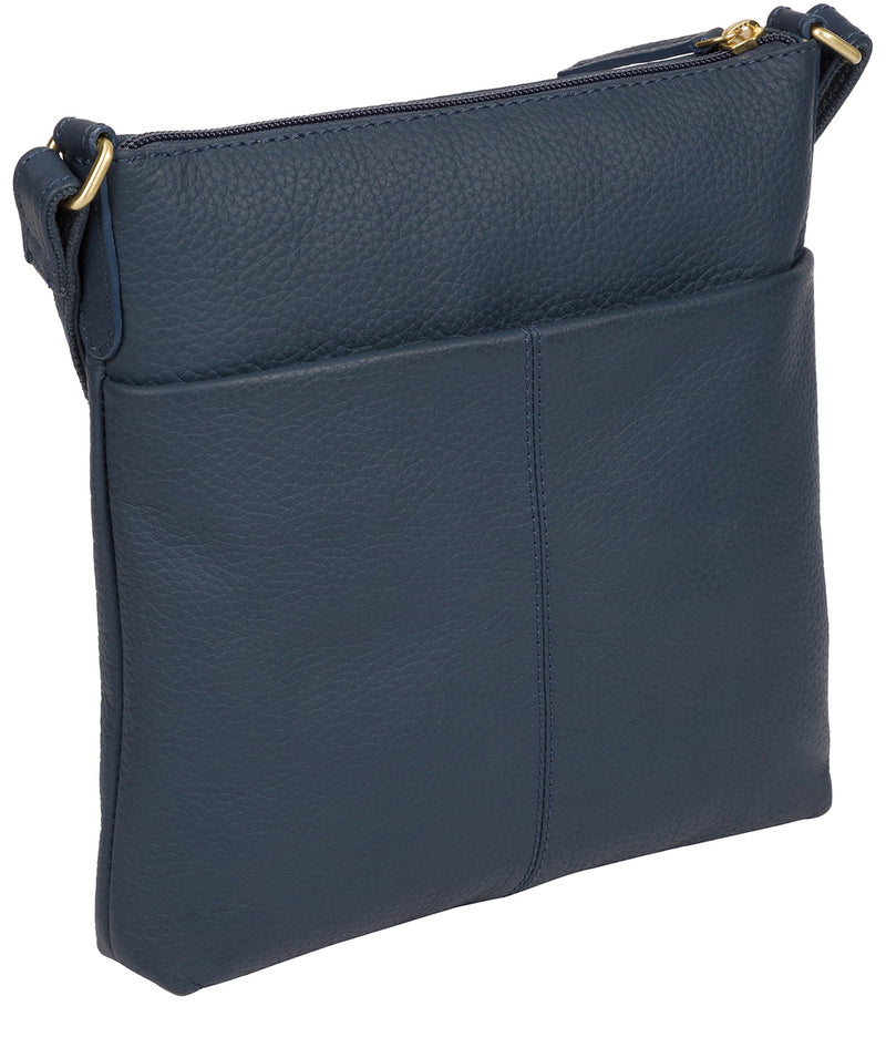 'Bronwyn' Denim Leather Cross Body Bag image 3