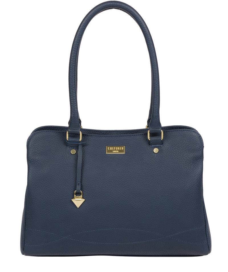 'Kiona' Denim Leather Handbag image 1