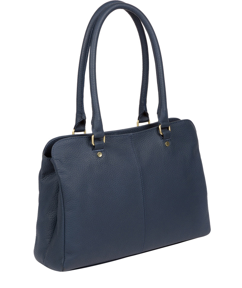 'Kiona' Denim Leather Handbag image 3