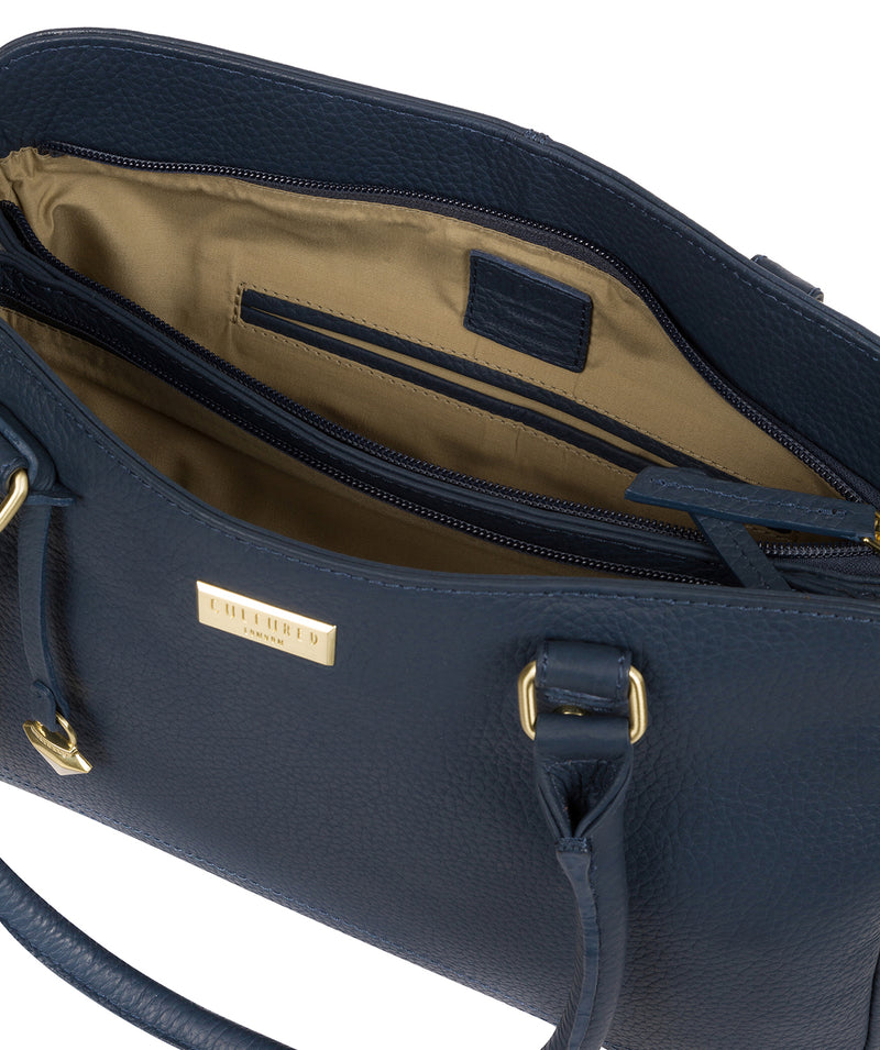 'Kiona' Denim Leather Handbag image 4