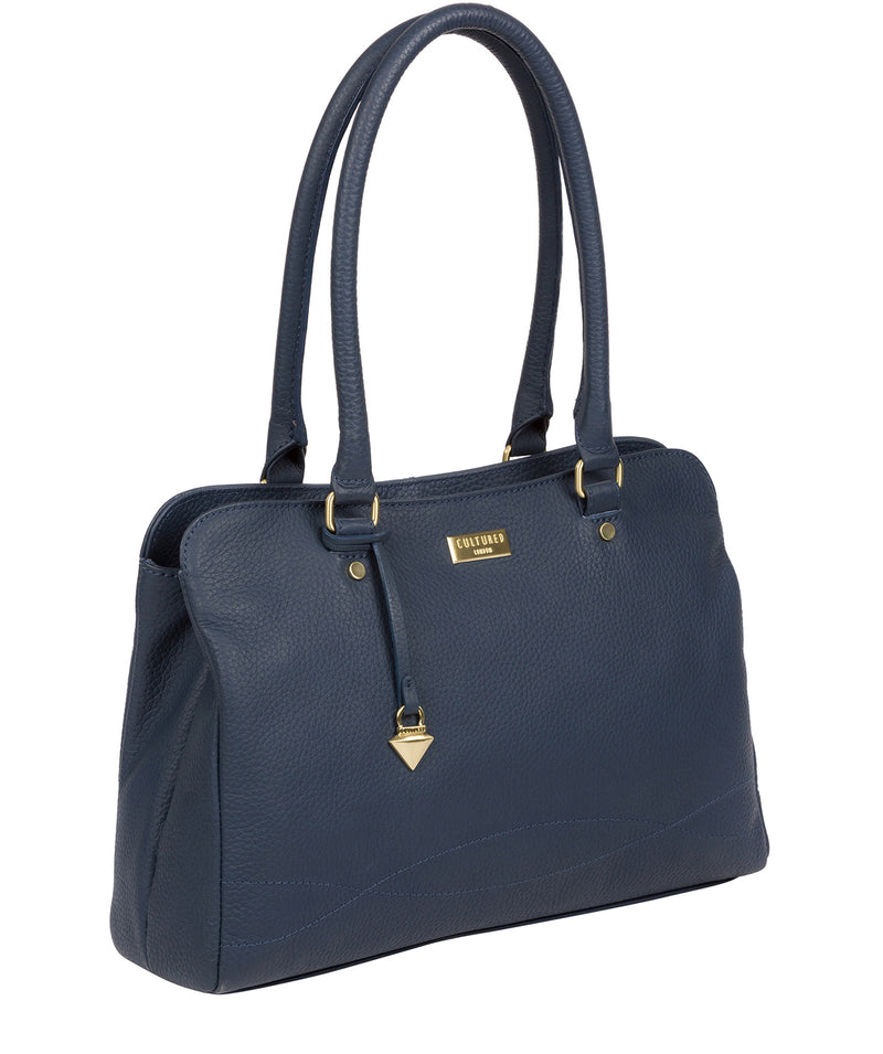 'Kiona' Denim Leather Handbag image 6
