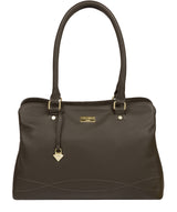 'Kiona' Olive Leather Handbag image 1