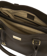 'Kiona' Olive Leather Handbag image 4