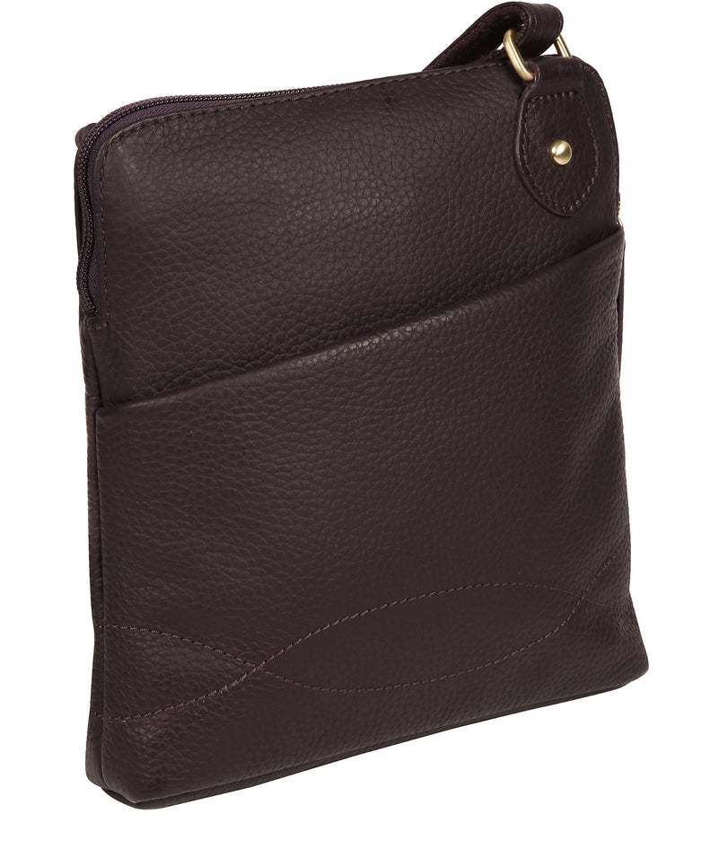 'Jarah' Fig Leather Cross Body Bag image 3