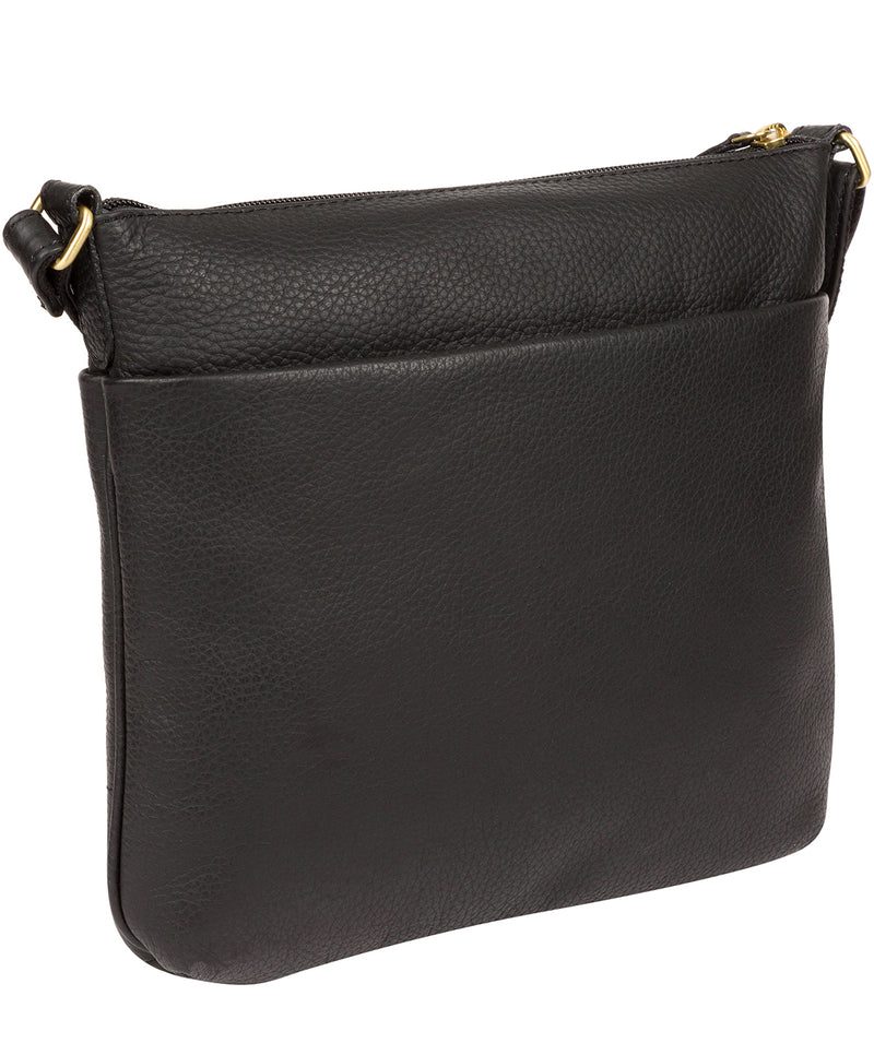 'Gianna' Black Leather Cross Body Bag image 3