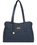 'Liana' Denim Leather Handbag image 1