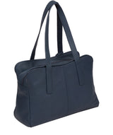 'Liana' Denim Leather Handbag image 3